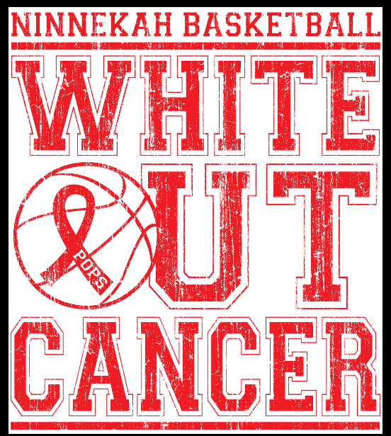 White Out Cancer Basketball Game Dec 15th